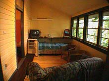 Grey Gum Lodge  Nimbin NSW Australien 1014t