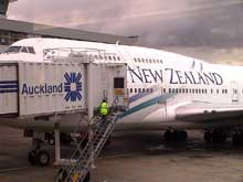 Air New Zealand Auckland