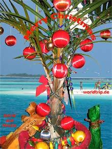 Amerikanische Weihnachtsgrüße.Karibische Weihnachtsgrüße Aus Barbados